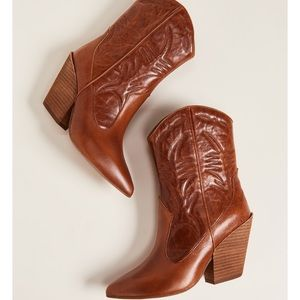 Jeffrey Campbell Midpark Western Leather Boots